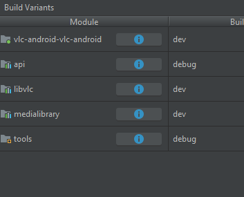 Building and live debugging the VLC Android app on a Windows 10 machine